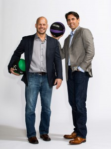 Anytime Fitness co-founders Dave Mortensen and Chuck Runyon