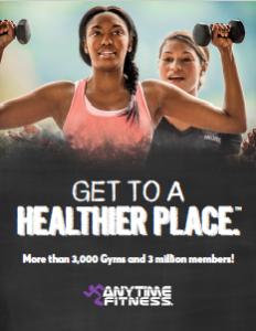 Anytime Fitness Media Kit